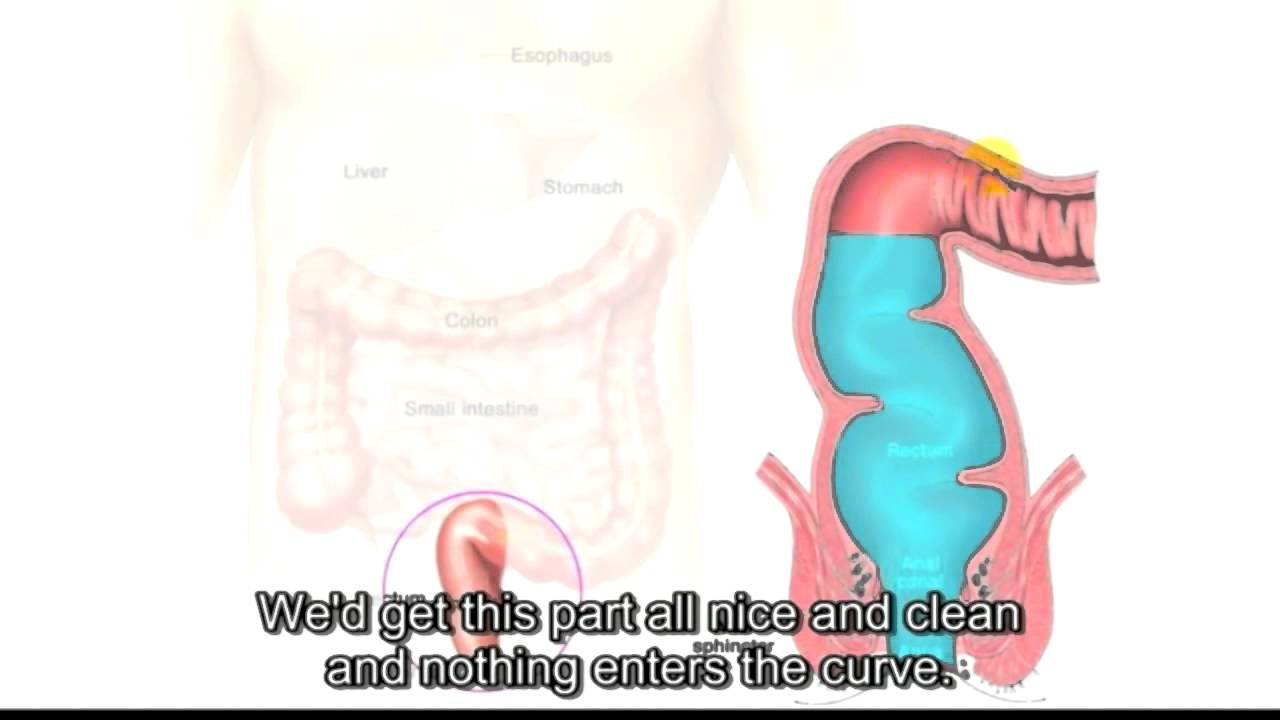 Colon cleanse before anal sex