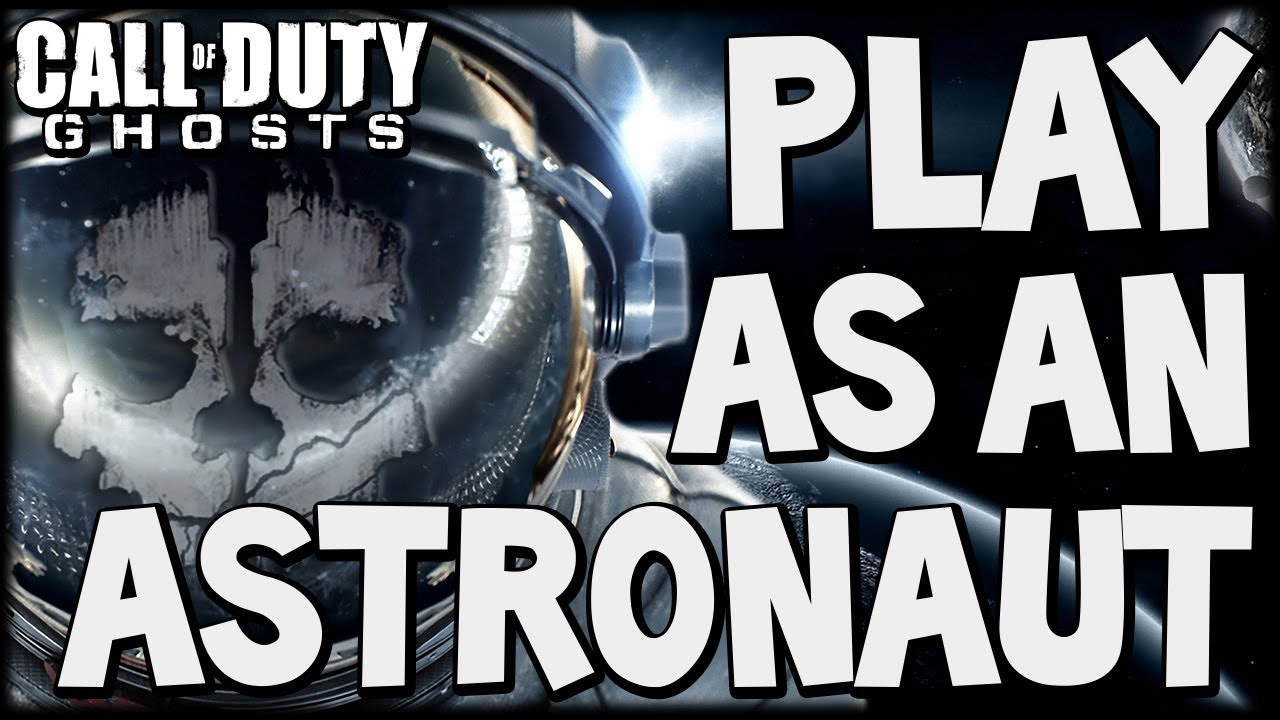 Call of Duty Ghosts quotASTRONAUT CHARACTER SKINquot New