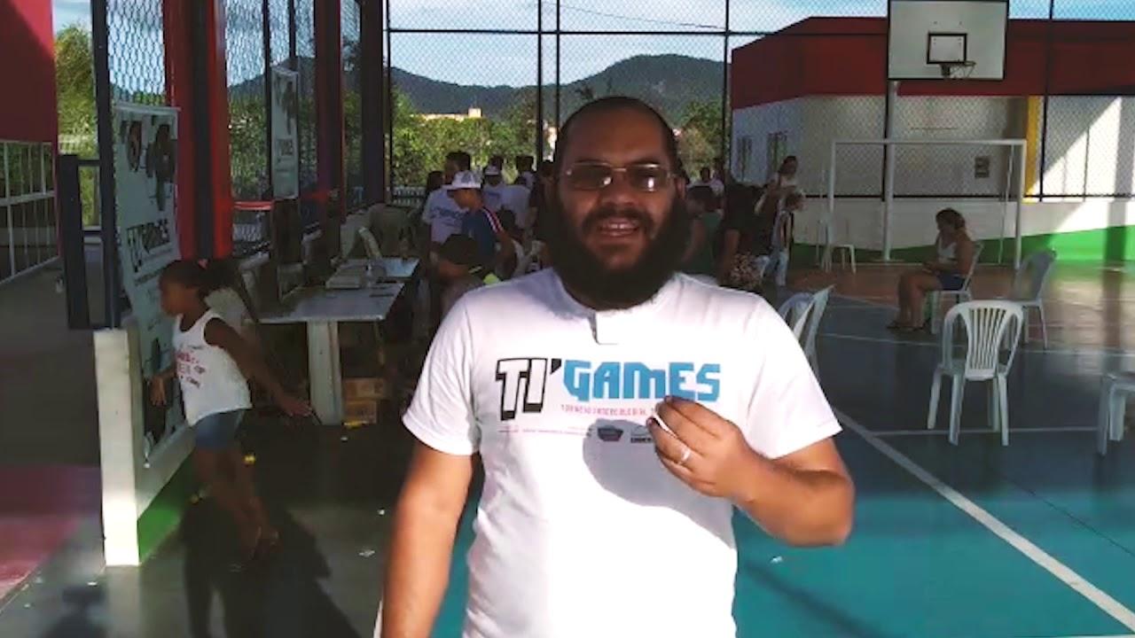 Thiago Cardoso, presidente da associação de gamers de Maricá e integrante da equipe Ti-Games