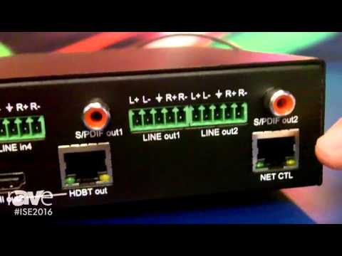 ISE 2016: SY Electronics Introduces 10×2 Scaling Presentation Switcher