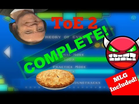 (#14) Geometry Dash - THEORY OF EVERYTHING 2 COMPLETE!