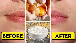 Mix These 2 Natural Ingredients To Get Rid Of Facial Hair In A Blink Of An Eye
