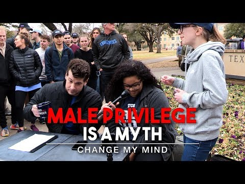 REAL CONVERSATIONS: Male Privilege Is A Myth (2nd Edition) | Change My Mind