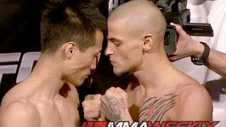 UFC on Fuel 3: Korean Zombie vs. Poirier Weigh-In Video