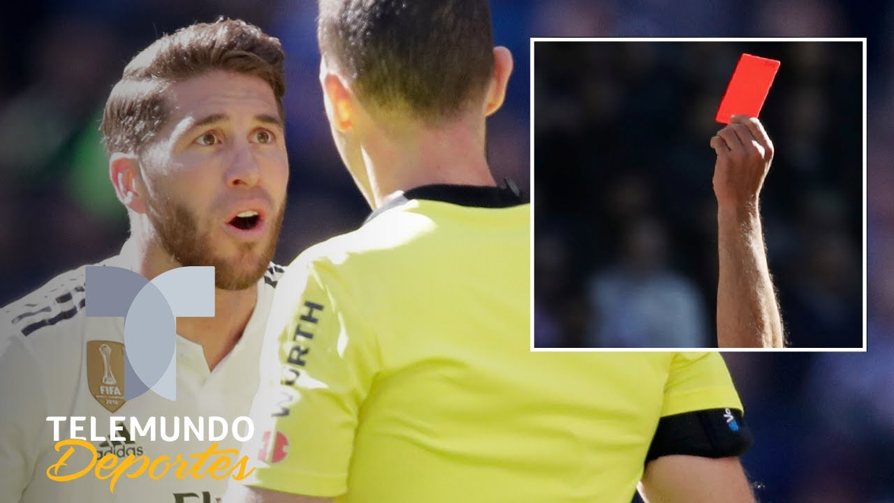 Sergio Ramos, ¡OTRA VEZ!: Amarilla, roja y polémica para el Clásico | La Liga | Telemundo Deportes