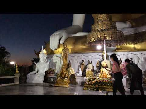 Wat Phrathat Doi Kham In Chiangmai, Thailand 4
