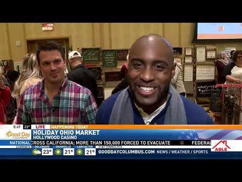 "Joe Sam Reporting ""Holiday Ohio Made Market"" Good Day Columbus"