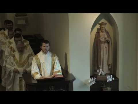 Deacon Peter Gruber's First Homily - Feast of Saint Philip Neri