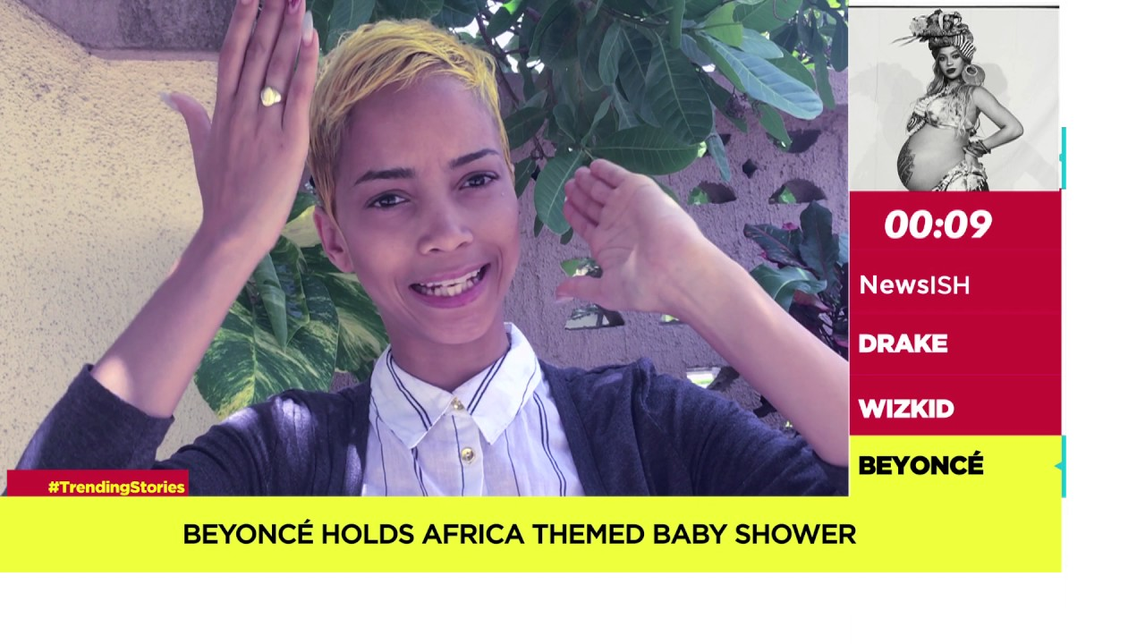 NewsISH | Beyonce Holds African Themed Baby Shower