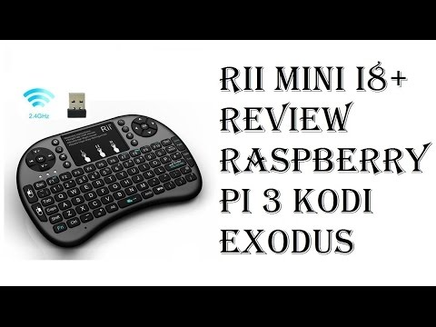 6aeb48752d8 Rii i8+ Review - 2.4GHz Mini Wireless Keyboard with Touchpad, LED Backlit,  Rechargable Battery