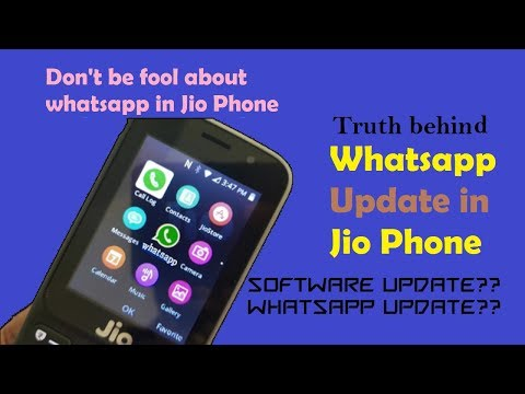 [New] Whatsapp update in Jio Phone || Myth || Reality check ||  Don't be fool ||