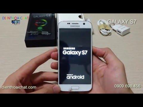 Clip test samsung Galaxy S7 loại 1 giá rẻ nhất, Samsung Galaxy S7 Đài Loan Loại 1 giá tốt nhất