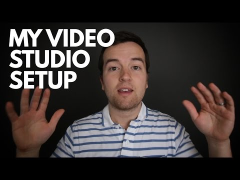 Phil's Home Video Studio Setup for Online Courses