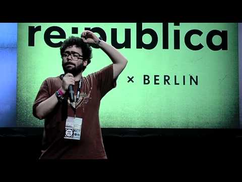 "re:publica 2012 - Jérémie Zimmermann - The ""War On Sharing"" In The EU on YouTube"