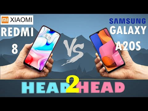 XIAOMI Redmi 8  VS Samsung Galaxy A20s