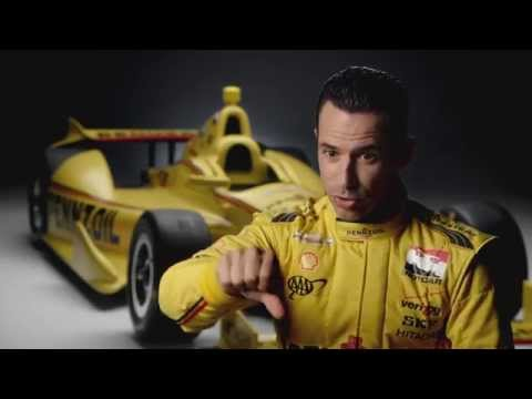 Pennzoil Ultra Platinum™ Synthetic Oil Powers Helio Castroneves
