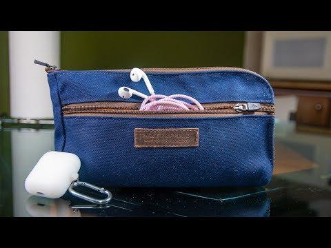Best Travel Tech Organization Pouch?! - Gear Pouch by WaterField Designs Review