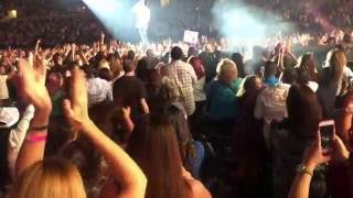 luke bryan country girl shake it for me dallas texas 10 22 2016 kill the lights tour 2016