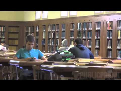 Lil Jon Prank in the Library 2015
