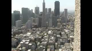 The view from the Top of Coit Tower May 2012