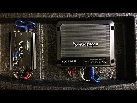 2016+ Honda Civic Type R Subwoofer Amplifier Installation