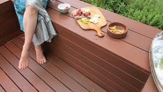 Build your own DIY deck with bench seating. This film documents all the steps involved in building a funky deck. It takes deck
