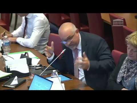 Commission des affaires sociales ( 15 mai 2018 ), audition de  Monsieur Hervé Morin
