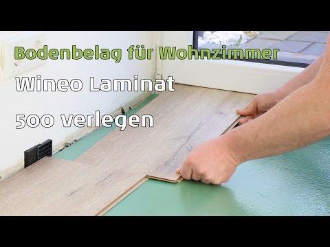 Laminat 500 Wineo small/medium/large/XL verlegen