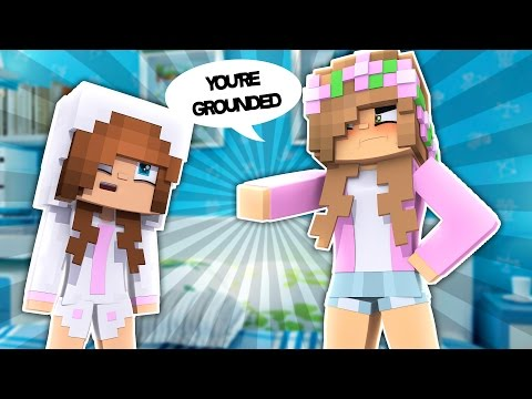 BABY ELLIE GETS GROUNDED! Minecraft Little Kelly (Custom Roleplay)