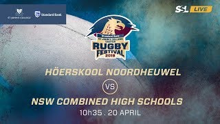 Noordheuwel vs Combined High Schools, St John's College Easter Rugby Festival 2019