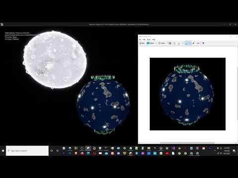 Pseudo-Random Procedural Map Generation for Planets [Atlantica Galaxy]