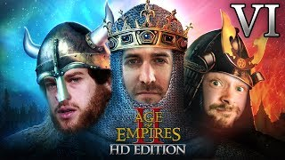 Age Of Empires 2 HD Edition 2v1 #06 | Florentin & Donnie vs. Marco
