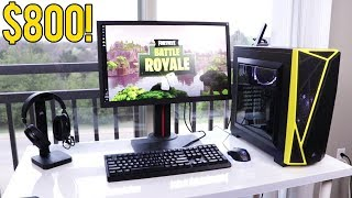 COMPLETE $800 FORTNITE PC Gaming Setup Guide 2018!