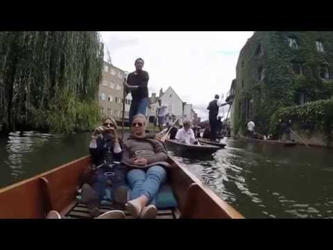 Punting In Cambridge, UK - GoPro Hero 3+