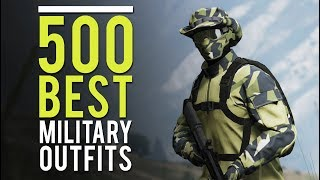 Gambar cover GTA Online - 500 Best Military Outfits & How To Do Them (SHOWCASE)