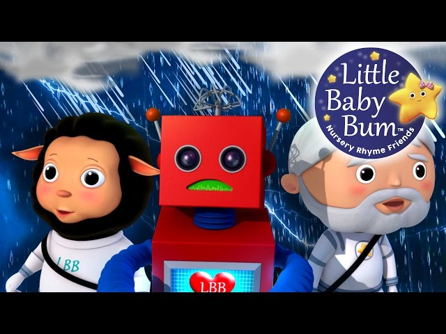 It's Raining It's Pouring | Nursery Rhymes | by LittleBabyBum!