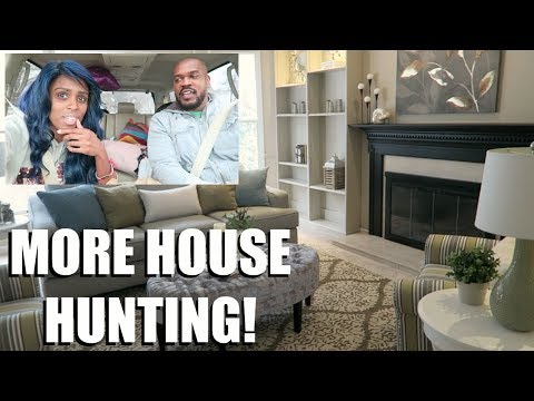MORE HOUSE HUNTING WITH THE TWINS! 🏠👶🏽👶🏾😍 | HOUSE HUNTING TRIP #3