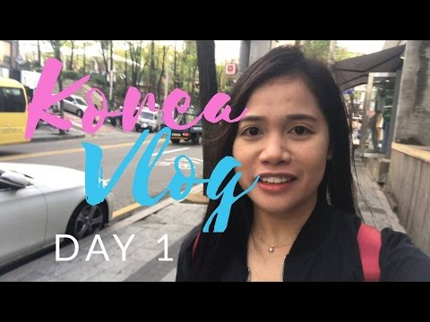 Zelda goes to Korea (Travel Vlog)Day 1- April 18, 2017