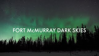 Fort McMurray starlight and northern lights time lapse | Alberta, Canada