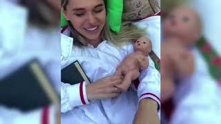 Анна Хилькевич родила сына 😱