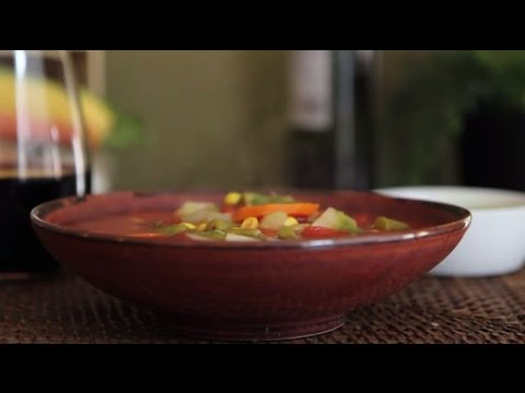 Soup Recipes - How To Make Quick And Easy Vegetable Soup