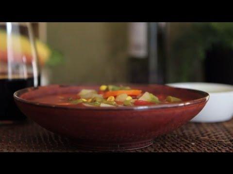 How To Make Quick And Easy Vegetable Soup | Soup Recipes | Allrecipes.com