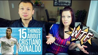 Reacting to 15 Things You Didn't Know About Cristiano Ronaldo