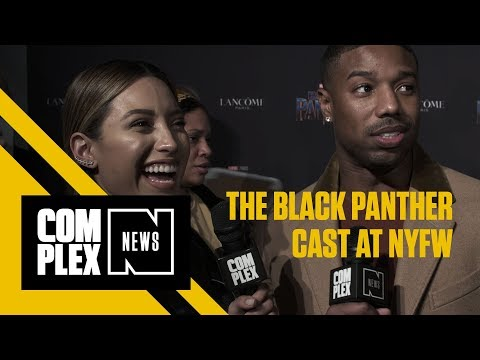 Black Panther's Cast Sport Major Designers At NYFW Event 'Welcome To Wakanda'