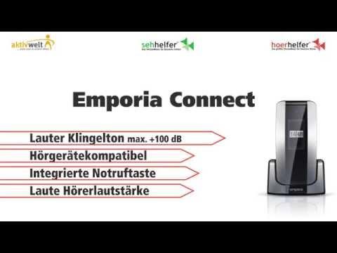 Seniorenhandy Emporia Connect