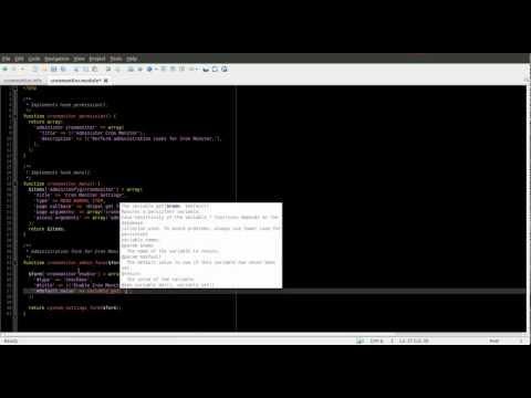 Drupal 7 Module Development Part 3 - Drupal Administration Forms - Daily Dose of Drupal Episode 18