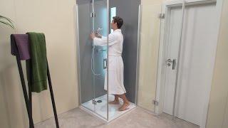 Video: Termostatinė dušo sistema Hansgrohe Crometta S 240
