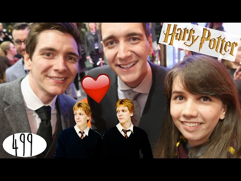 Fred & George ontmoeten + Harry Potter Exhibition Opening! V