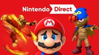 Final Newcomers for Smash Ultimate ? Nintendo Switch Online Backlash - Nintendo Direct Best Ever ?