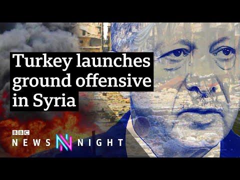 Turkey Syria offensive: What next for Syrian Kurds? - BBC Newsnight